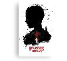 Stranger things Painting Canvas Print