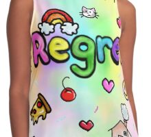 Regret With a Side of Sprinkles Contrast Tank