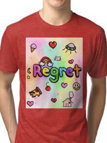 Regret With a Side of Sprinkles Tri-blend T-Shirt