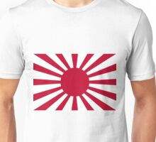Japan Rising Sun Flag Unisex T-Shirt