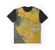 Reflecting Fall - Daily quick study painting Graphic T-Shirt