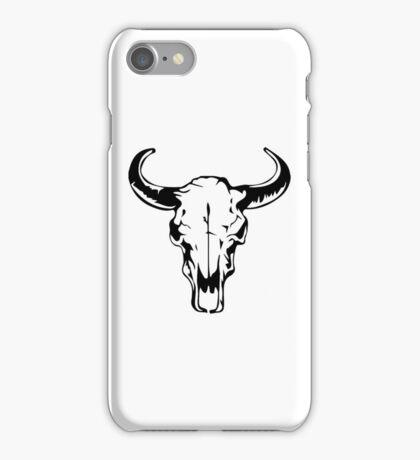 Cow Skull - Western iPhone Case/Skin