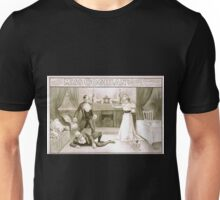 Performing Arts Posters Delcher Hennessy present Miss Coghlan as Becky Sharp in Thackerays Vanity fair 1363 Unisex T-Shirt
