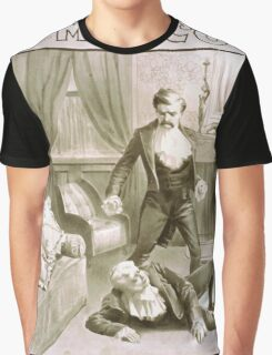 Performing Arts Posters Delcher Hennessy present Miss Coghlan as Becky Sharp in Thackerays Vanity fair 1363 Graphic T-Shirt