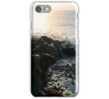 Waves over Wales Coast iPhone Case/Skin