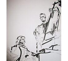 paris sculptures Photographic Print
