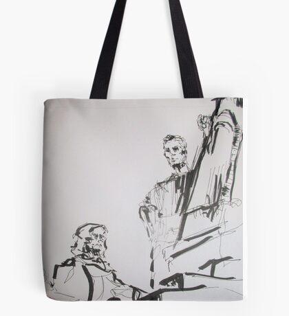 paris sculptures Tote Bag