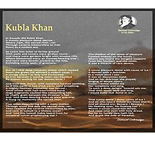 Kubla Khan Photographic Print