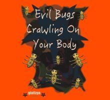 Evil Bugs Kids Tee