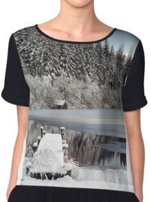 Loch Ard Winter View Chiffon Top