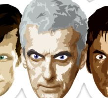 Doctor Who - The Doctors Sticker