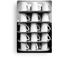 Cups Canvas Print