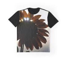 Sunshine Through the Sunflower Graphic T-Shirt