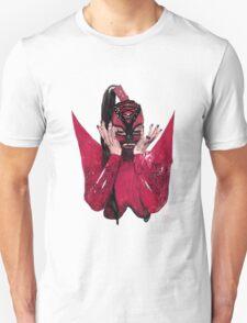 Latex Fetish Girl Unisex T-Shirt