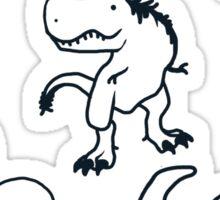 Cretaceous Critters Sticker