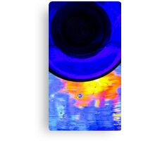 Glass on glass Canvas Print
