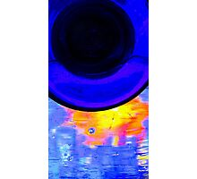 Glass on glass Photographic Print