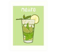 Mojito (typo) Art Print
