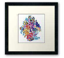 Pony Party Framed Print