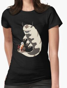 Avatar - Aang and Appa Womens Fitted T-Shirt