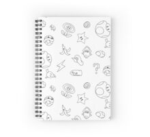 It'sa Me! Ink Pattern Spiral Notebook