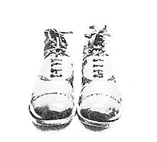 Old Boots Photographic Print