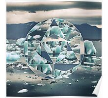 Geometric Icebergs Abstract Poster