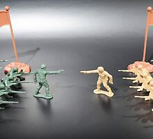 Nation vs Nation plastic soldiers by Igor Pamplona
