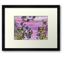 Two Cutie Kittens Framed Print