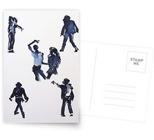 00 silhouette Postcards