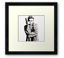 King Chloe Framed Print