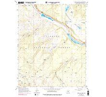 USGS TOPO Map Arizona AZ Lower Lake Mary 312175 1962 24000 Photographic Print