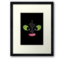 How To Train Your Dragon Cute Baby Dragon Framed Print