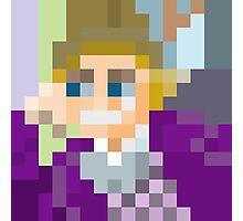 Gene Wilder pixel art Photographic Print