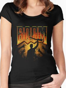 Boomstick Women's Fitted Scoop T-Shirt
