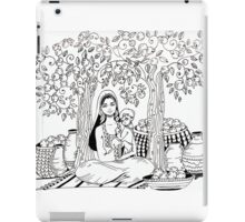 love surrounded with oranges  iPad Case/Skin