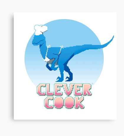 Clever cook Canvas Print