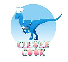 Clever cook Photographic Print