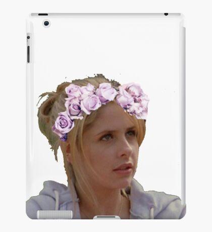Buffy Summers - Flower Crown iPad Case/Skin