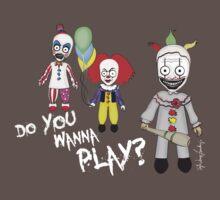 Do You Wanna Play? One Piece - Short Sleeve