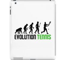 Evolution Of Man And Tennis iPad Case/Skin