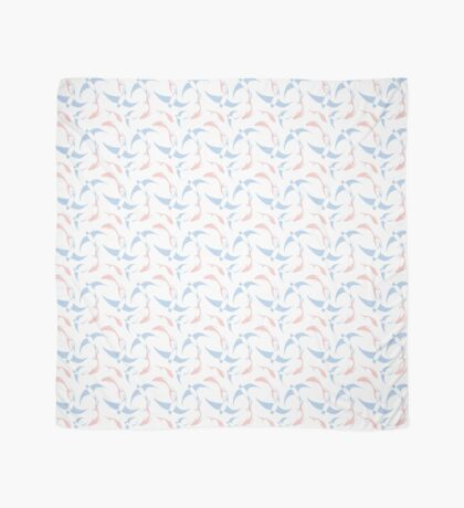 Koi and Swallow Pattern Scarf