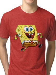 Sponge Bob Tri-blend T-Shirt