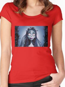 Corpse bride Women's Fitted Scoop T-Shirt
