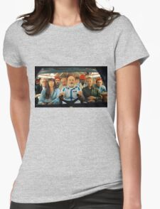Life aquatic Womens Fitted T-Shirt