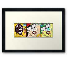 heavy hitters and golden slippers, losers winners moonbeams and ashcan heroes 5 Framed Print