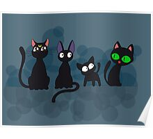 Kuro Cats Poster
