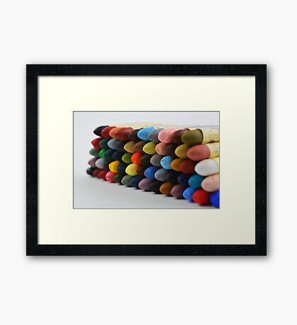 Landscape Pallette Framed Print