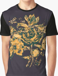 Vintage flowers drawing Graphic T-Shirt