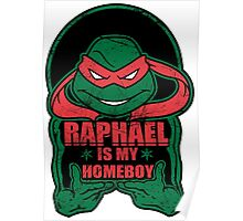 Raph is my Homeboy Poster